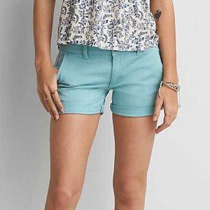 NWT American Eagle twill x midi shorts
